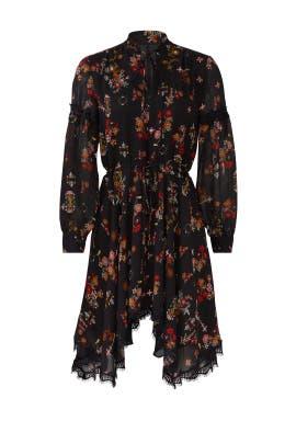 Floral Handkerchief Dress by Derek Lam 10 Crosby