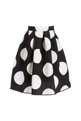 Dotted Skirt by BOUTIQUE MOSCHINO