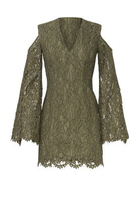 Khaki Lace Sheath by Keepsake