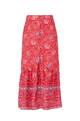 Lucia Button Maxi Skirt by MINKPINK