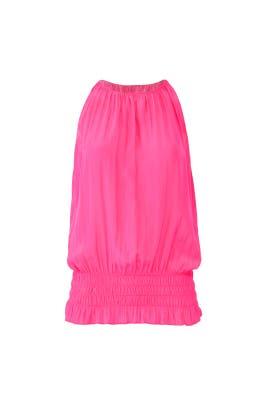 Pink Sleeveless Lauren Top by Ramy Brook