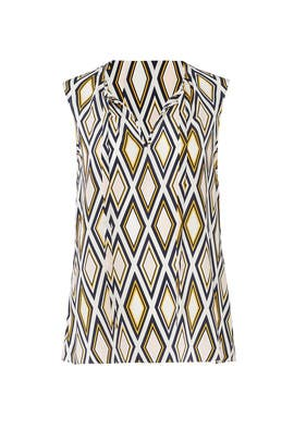 Printed Jess Top by Tory Burch