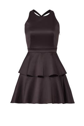 Black Full Skirt Dress by Slate & Willow