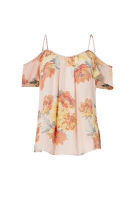 Floral Adorlee Top by Joie