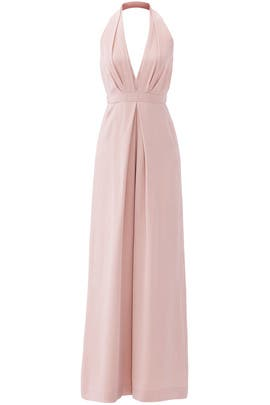 Blush Perfect Pleat Jumpsuit by Jill Jill Stuart