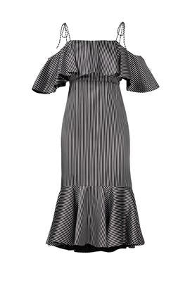 Striped Francesca Dress by AMUR