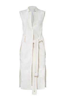 Wrap Waist Vest by Halston Heritage
