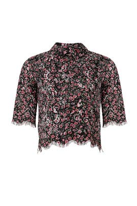 Floral Lace Top by The Kooples