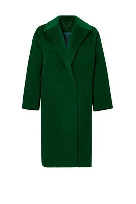 Forest Green Coco Coat by SALONI