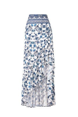 Floral Salsa Maxi Skirt by Show Me Your Mumu