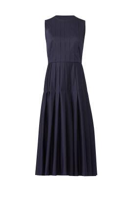 Navy Lianne Midi Dress by L.K. Bennett
