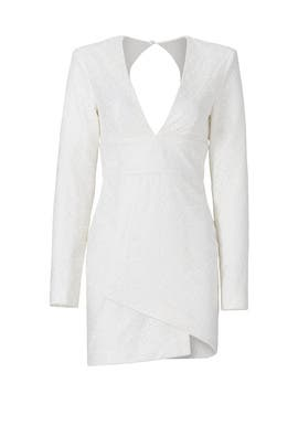 White Natasha Dress by Misha Collection