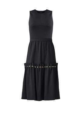 Black Marietta Dress by Mother of Pearl
