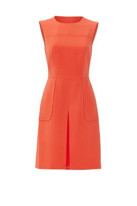 Orange High Tea Dress by Slate & Willow
