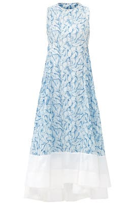 Blue Blaire Dress by Tory Burch