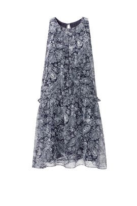 Paisley Chiffon Bayard Dress by LIKELY