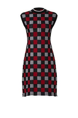 Mod Plaid Dress by Marni
