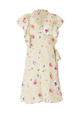 Daylily Wrap Dress by byTiMo