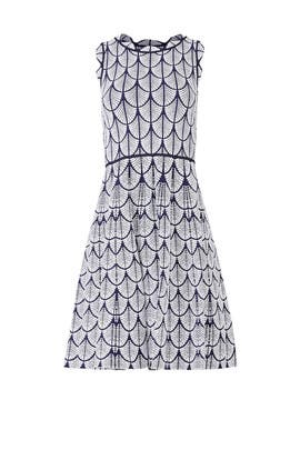 Scalloped Jane Knit Dress by John + Jenn