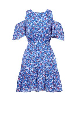 Blue Wildflower Shiloh Dress by Tanya Taylor