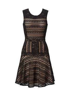 Black Jalina Dress by BCBGMAXAZRIA