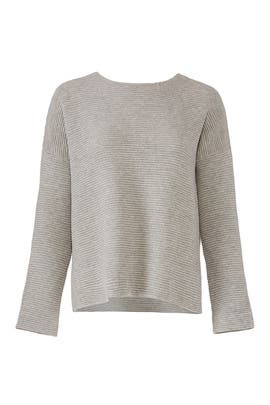 Grey Ribbed Sweater by Elk