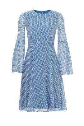 Blue Abbie Dress by L.K. Bennett