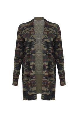 Camo Camp Cardigan by Sanctuary