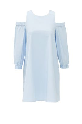 Powder Blue Architect Dress by Tibi