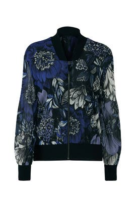 Multi Floral Bomber by Fuzzi