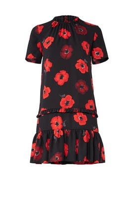 Black Poppy Dress by kate spade new york