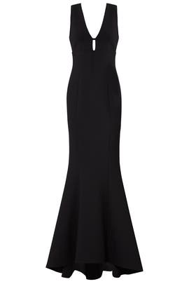 Black Albury Gown by LIKELY