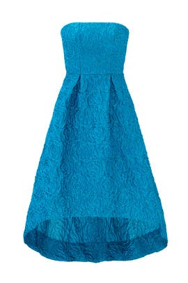 Teal Sunshine Day Gown by ML Monique Lhuillier