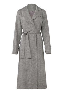 Grey Harmonic Coat by The Fifth Label