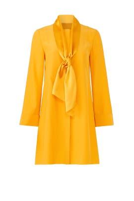 Golden Crest Sophia Dress by Tory Burch