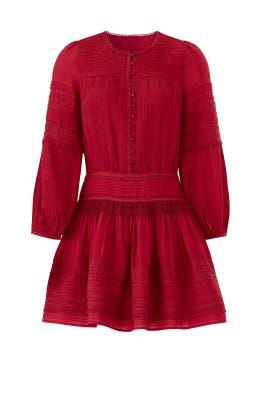 Red Azzedine Dress by Sea New York