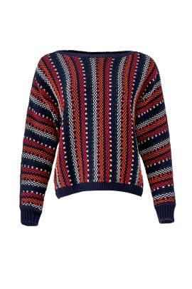Striped Marlet Sweater by ba&sh