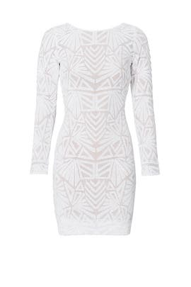 White Carlene Dress by Dress The Population