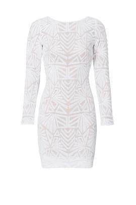 White Carlene Dress by Dress The Population