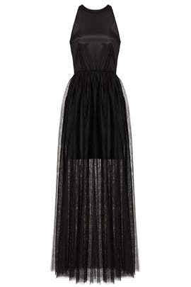 Black Janice Tulle Dress by Line + Dot