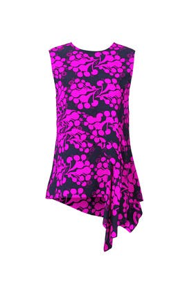 Fuchsia Bouquet Arizona Top by Tanya Taylor
