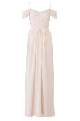 Blush Drape Gown by Adrianna Papell
