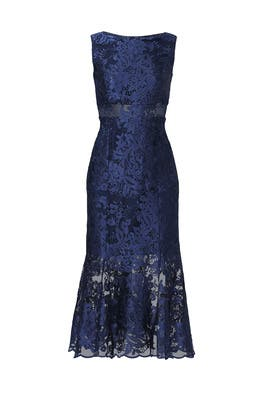 Navy Diana Dress by ERIN erin fetherston