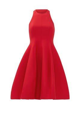 Red Carmine Dress by Halston Heritage