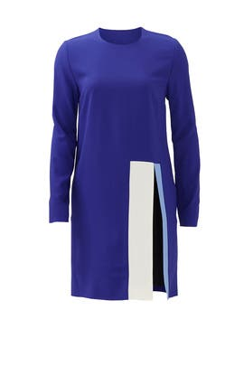 Cobalt Block Dress by MSGM