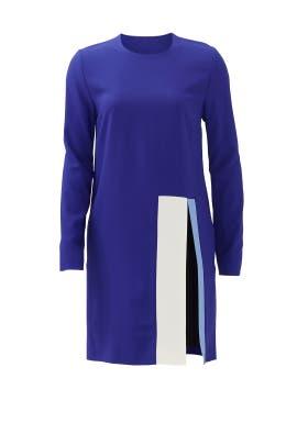 Cobalt Block Dress by MSGM