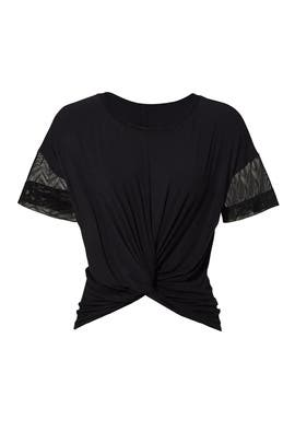Black Farfalla Top by MICHI