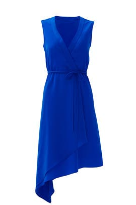 Cobalt Wrap It Up Dress by Slate & Willow
