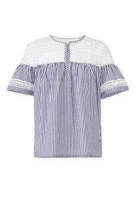Short Sleeve Stripe Top by Scotch & Soda