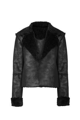 Faux Shearling Jacket by Splendid